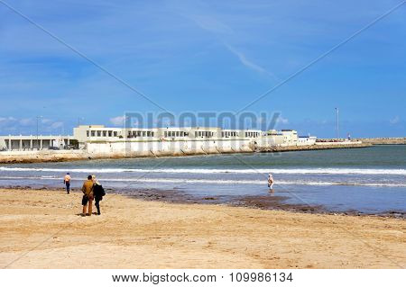 Coast of the Atlantic Ocean, El Jadida, Morocco, Africa