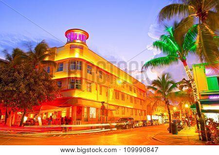 Miami Beach sunset