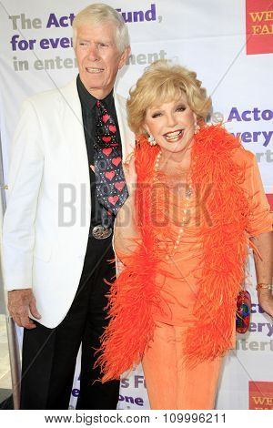 LOS ANGELES - JUN 8:  Webster B. Lowe Jr, Ruta Lee at the 2014 Tony Award Viewing Party at the Taglyan Cultural Complex  on June 8, 2014 in Los Angeles, CA