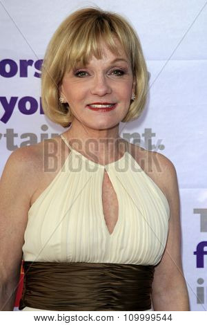 LOS ANGELES - JUN 8:  Cathy Rigby at the 2014 Tony Award Viewing Party at the Taglyan Cultural Complex  on June 8, 2014 in Los Angeles, CA