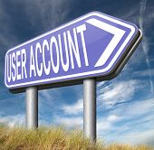Your user account member registration open or create membership profile  poster