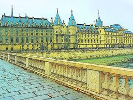 Paris Illustration, La Conciergerie (former Prison)