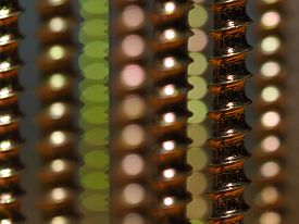 Screw Threads Closeup