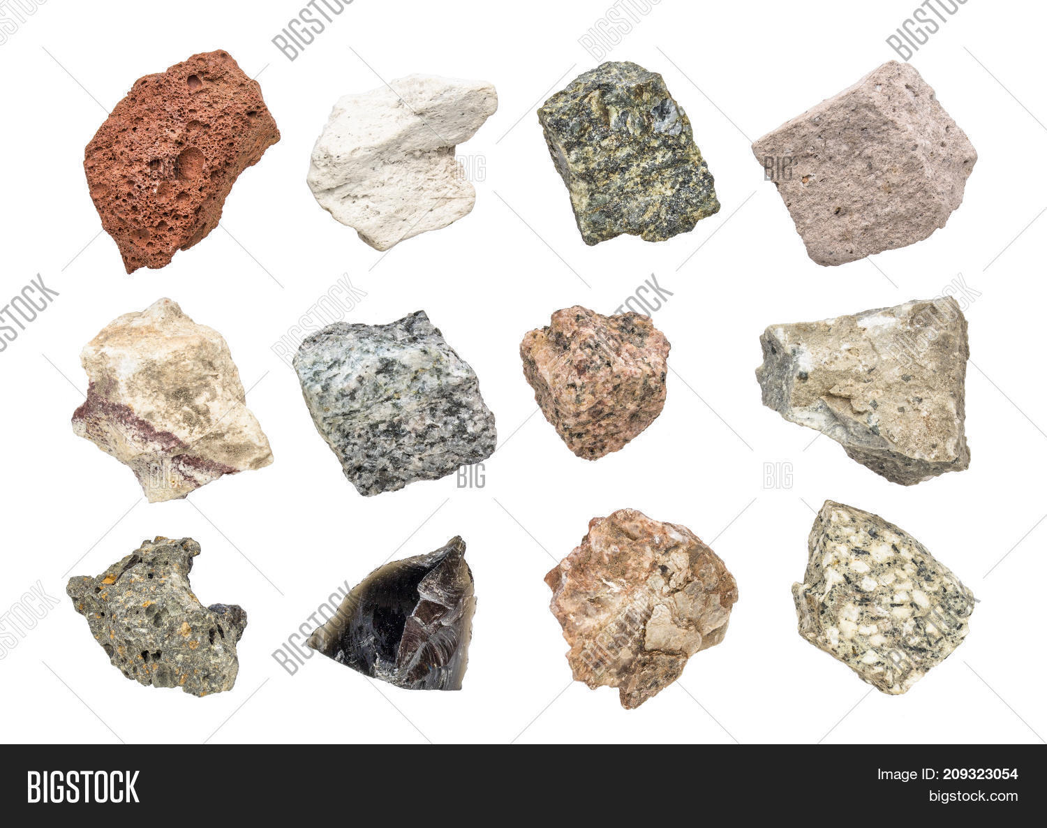 Isolated Igneous Rock Image Photo Free Trial Bigstock