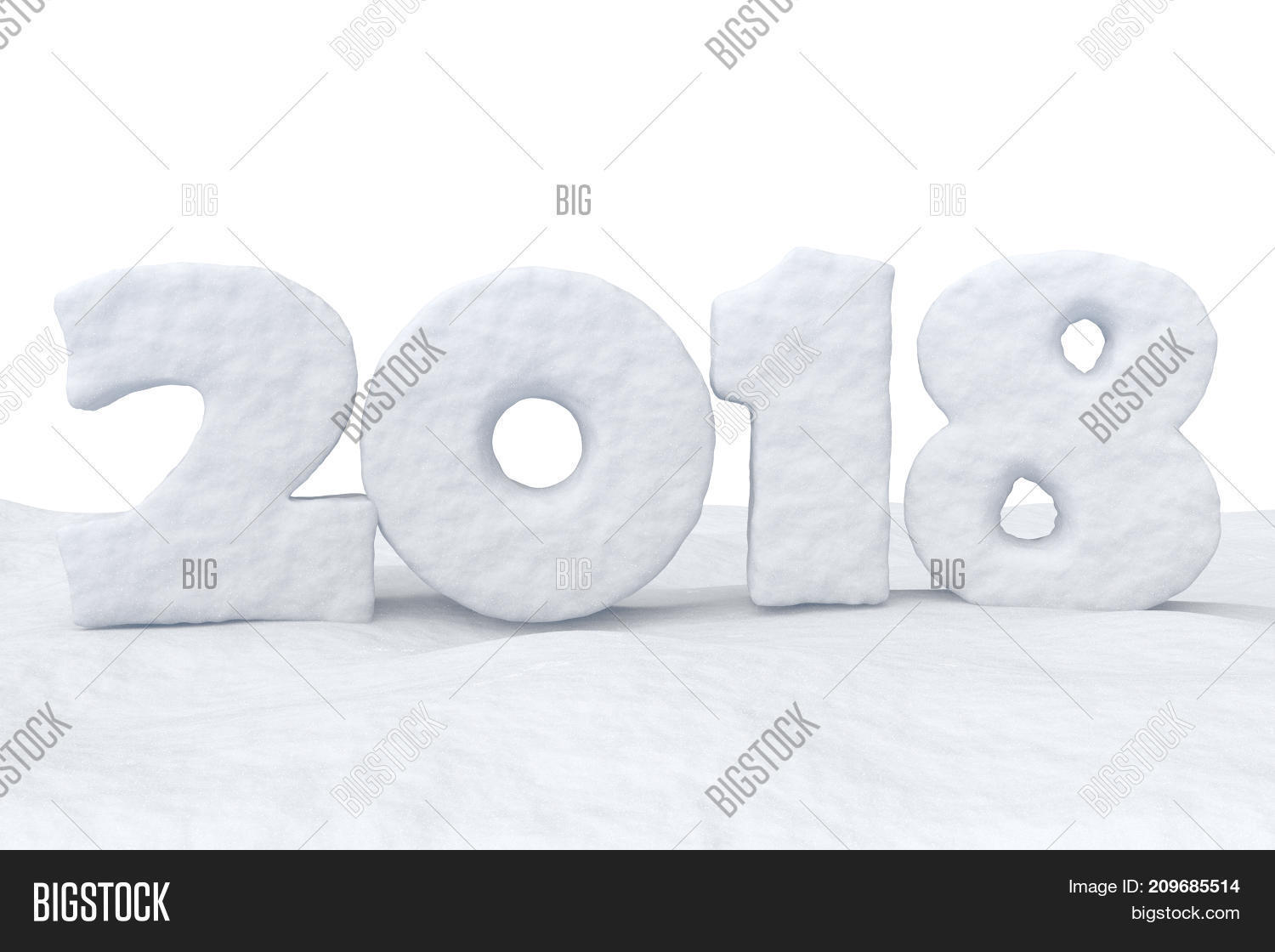 2018 New Year Sign Image Photo Free Trial Bigstock