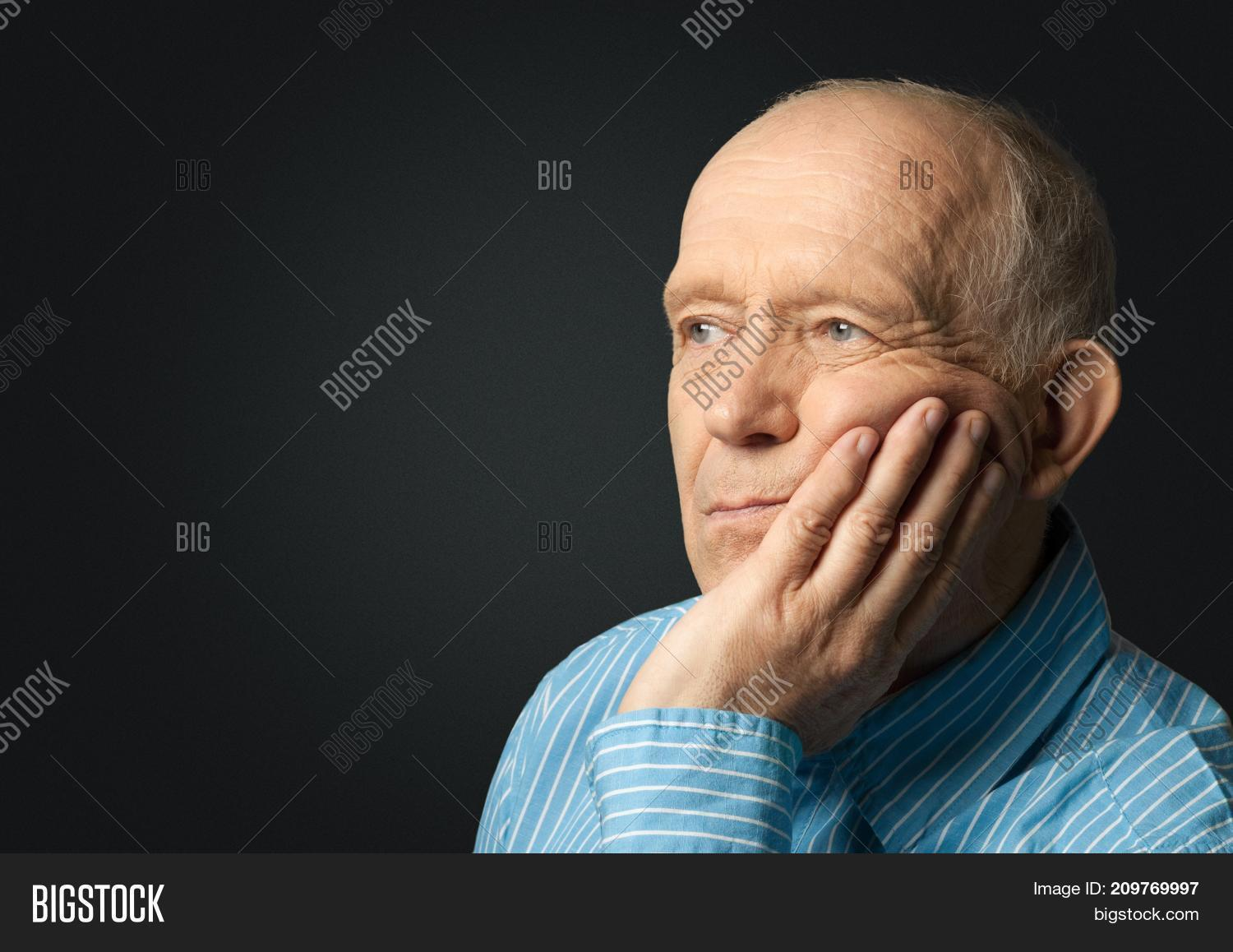 Image of: Masterfile Man Elderly Sad Old Man Senior Adult Grey Hair Old People Bigstock Man Elderly Sad Old Image Photo free Trial Bigstock