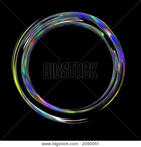 Blue Chrome Rings