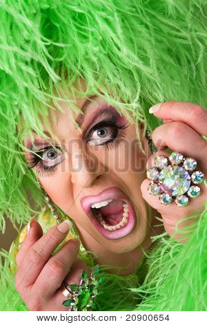 Scared Drag Queen