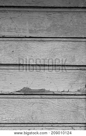 old paint on a dry wooden wall black and white poster