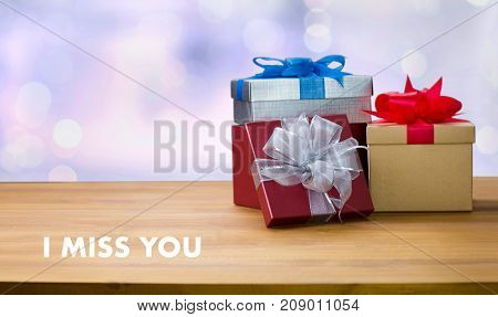 I Miss You I Love You Too Gift Happiness Care Passion Romance