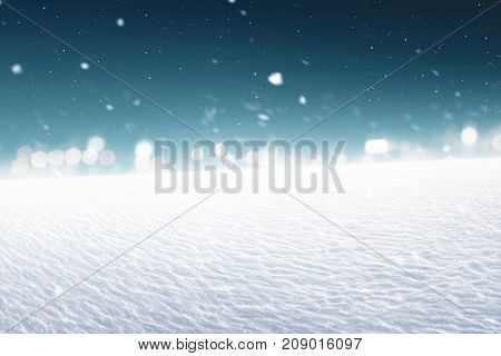 Image Of Snowy Land