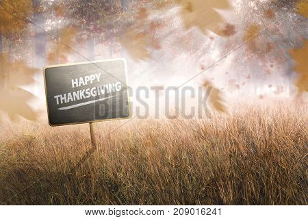 Happy Thanksgiving Concept