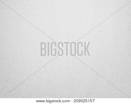 White fabric canvas texture background for design blackdrop or overlay