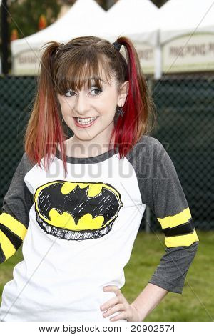 LOS ANGELES - JUN 12:  Allisyn Ashley Arm arriving at the 22nd Annual 'Time for Heroes' Celebrity Picnic at Wadsworth Theater on June 12, 2011 in Westwood, CA
