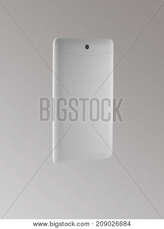 The Back Side Of The Tablet On Light Background