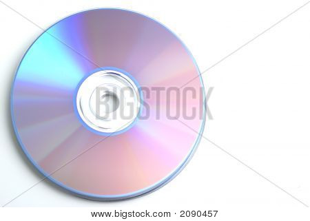 Dvd White Background