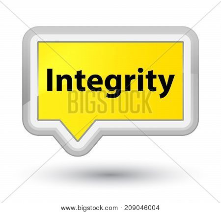 Integrity Prime Yellow Banner Button