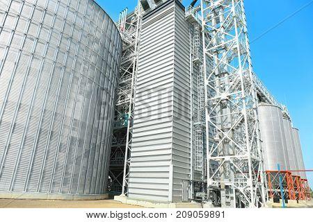 Territory of modern grain elevator
