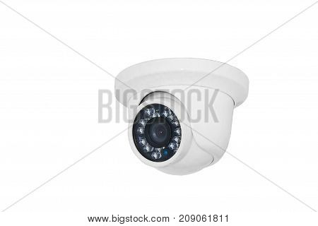 Security camera on a white background. isolated