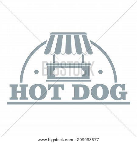 Stall logo. Simple illustration of stall vector logo for web