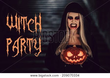 Halloween Black Witch