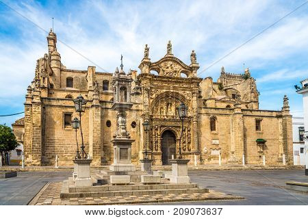 Priory church in El Puerto de Santa Maria town - Spain