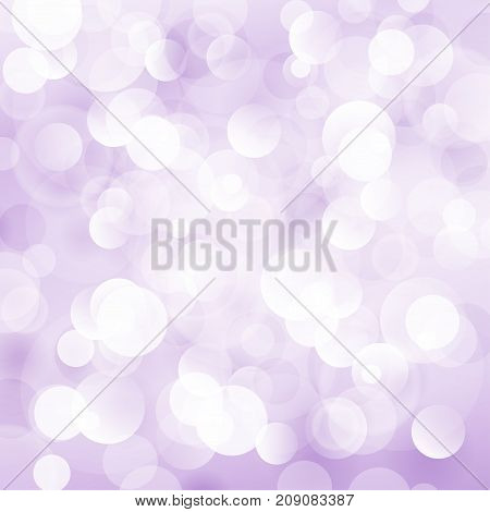 Lilac Soft Bright Abstract Bokeh Background Soft Glow of the Sun Defocused Lights