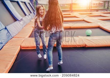 Children Having Fun