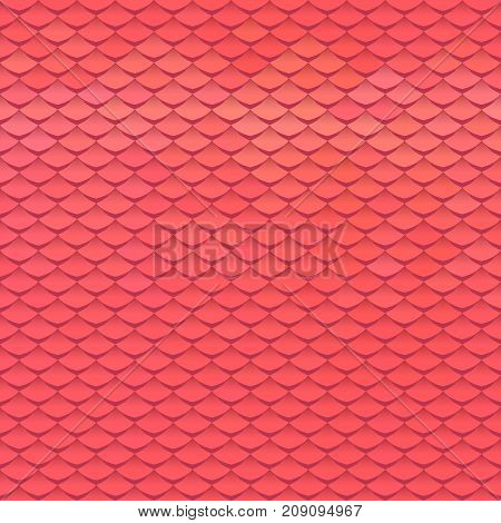 Abstract scale pattern. Roof tiles background. Color squama texture.