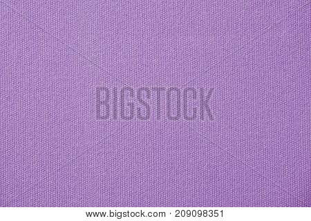 Purple canvas cotton texture background, fashion, detail close up