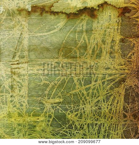 Old background with grunge decorative elements. Retro composition for your design. With different color patterns