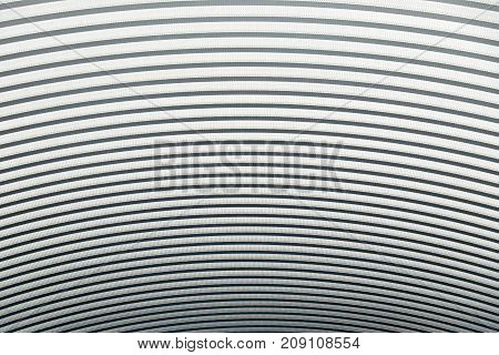 Curved metal sheet roof abstract Texture and background
