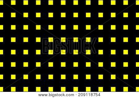 Square - geometric abstract vector pattern - black and yellow  , Lines - geometric abstract background
