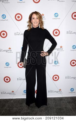 LOS ANGELES - OCT 12:  Felicity Huffman at the Eva Longoria Foundation Annual Dinner at the Four Seasons Hotel on October 12, 2017 in Beverly Hills, CA