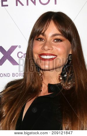 LOS ANGELES - OCT 12:  Sofia Vergara at the Tie The Knot Celebrates 5-Year Anniversary at the NeueHouse on October 12, 2017 in Los Angeles, CA