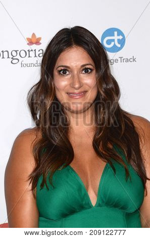 LOS ANGELES - OCT 12:  Angelique Cabral at the Eva Longoria Foundation Annual Dinner at the Four Seasons Hotel on October 12, 2017 in Beverly Hills, CA