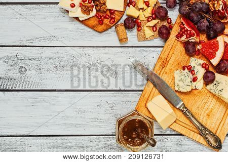 Plenty Varieries Of Gourmet Cheese