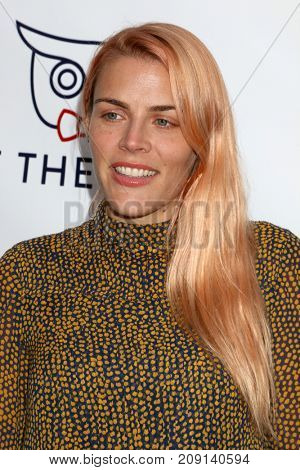 LOS ANGELES - OCT 12:  Busy Philipps at the Tie The Knot Celebrates 5-Year Anniversary at the NeueHouse on October 12, 2017 in Los Angeles, CA