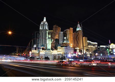 New York New York Hotel And Casino In Las Vegas.
