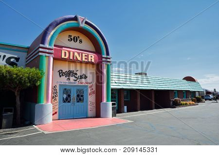 Peggy Sue's 50's Dinner.