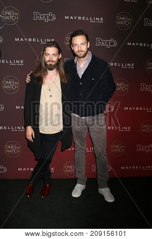LOS ANGELES - OCT 4:  Tom Payne, Ross Marquand at the People's Ones To Watch Party at the NeueHouse Hollywood on October 4, 2017 in Los Angeles, CA