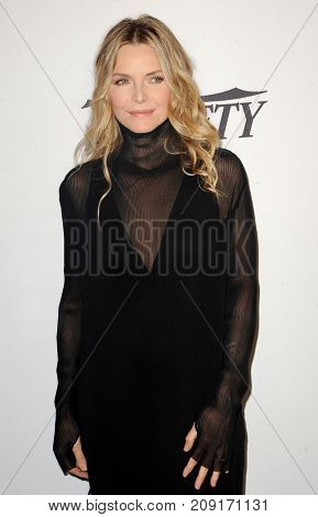 Michelle Pfeiffer at the Variety's Power Of Women: Los Angeles held at the Beverly Wilshire Four Seasons Hotel in Beverly Hills, USA on October 13, 2017.