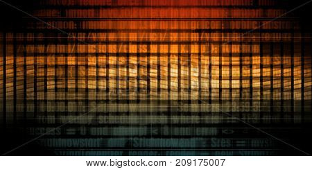 Digital Technology Concept as a Virtual Background