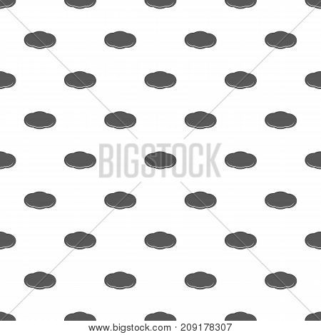 Cloud pattern seamless. Repeat illustration of cloud pattern vector geometric for any web design
