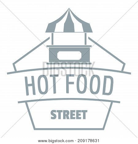 Buy food logo. Simple illustration of buy food vector logo for web