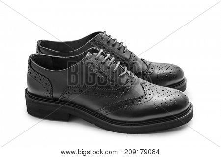 Black brogues