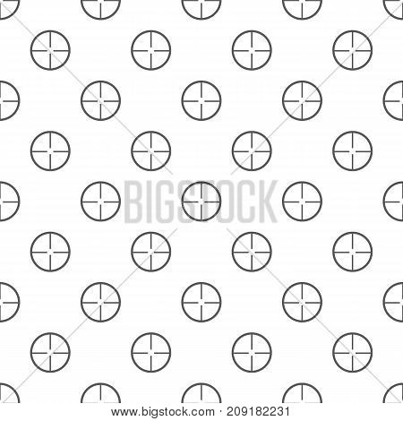 Aim pattern seamless. Repeat illustration of aim pattern vector geometric for any web design