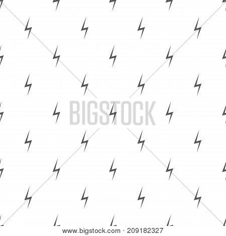 Lightning pattern seamless. Repeat illustration of lightning pattern vector geometric for any web design