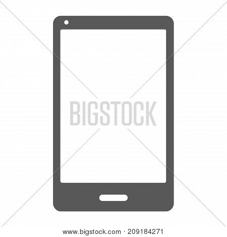 Smartphone icon. Vector simple illustration of smartphone icon isolated on white background