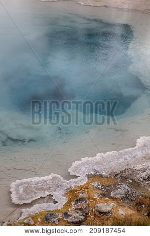 Fountain Paint Pot in Yellowstone National Park